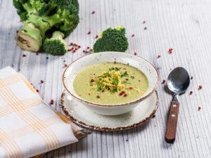 Supă cremă de broccoli și caju