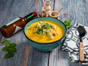 Supă cremă de morcov