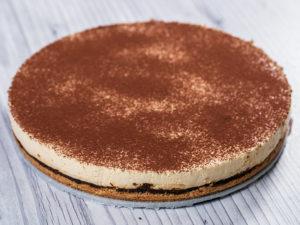 Cheesecake cu prune uscate și espresso