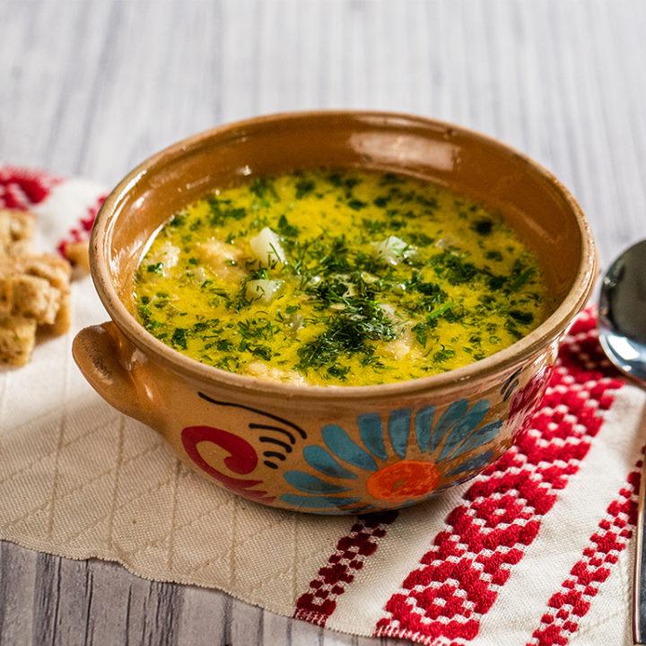 Supă de gulii