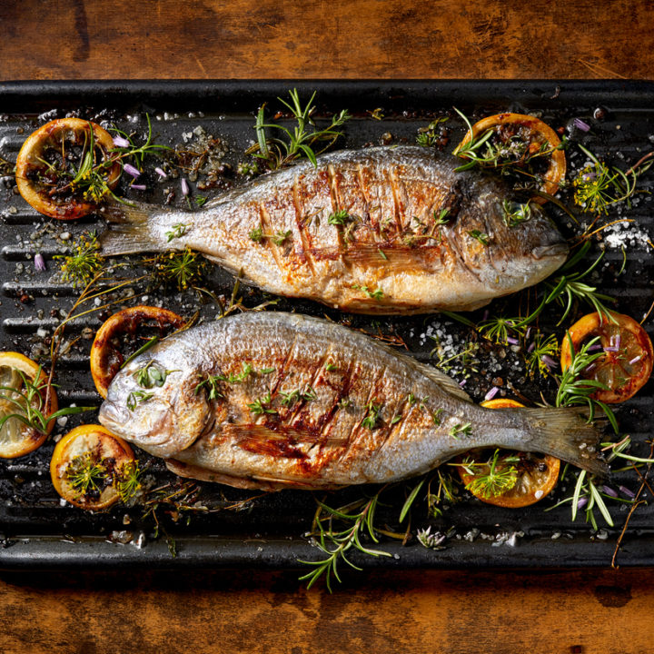 porții de pește