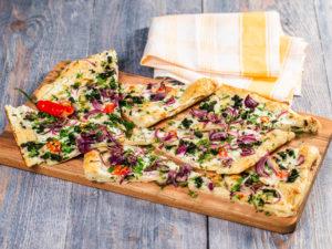 4 rețete de pizza vegetariană