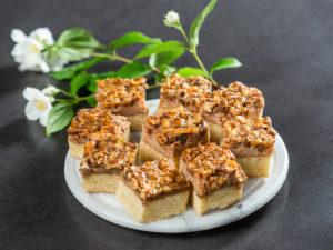 Prăjitură cu nuci și lapte condensat