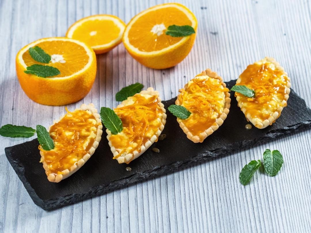 Cremă pentru prăjituri cu aromă de portocale - 1