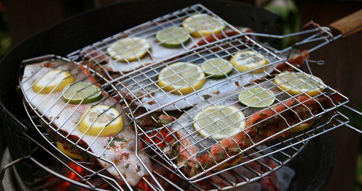 pește la grătar