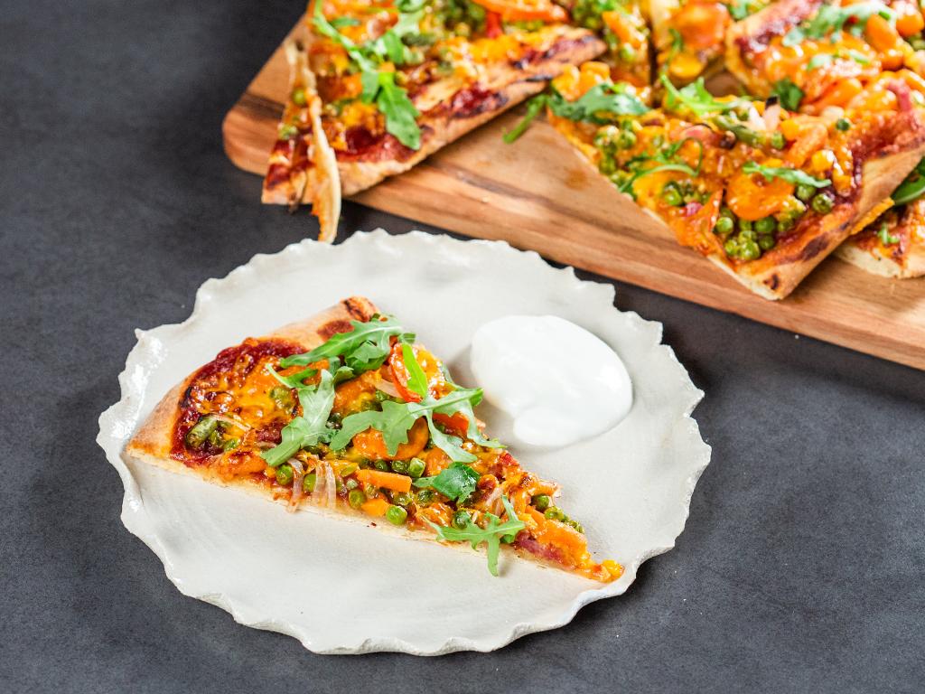 Pizza mexicană cu bacon