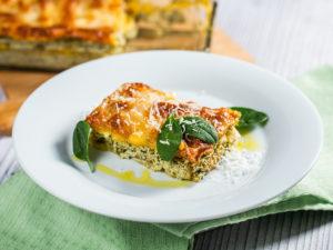 Lasagna cu gălbiori