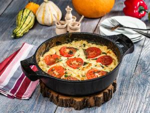 Paste al forno cu roșii și mozzarella