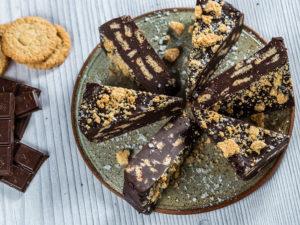 Tort de biscuiți cu ciocolată