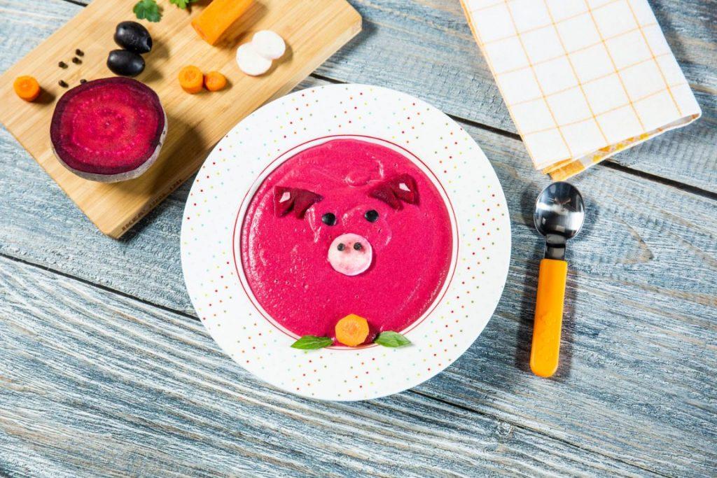 Poză cu supa-porcușor.