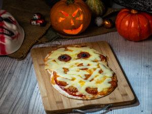 Pizza în formă de mumie - 1