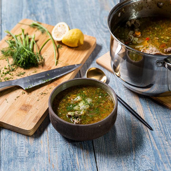 Supă de rață cu legume