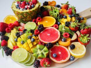 Multe tipuri de fructe