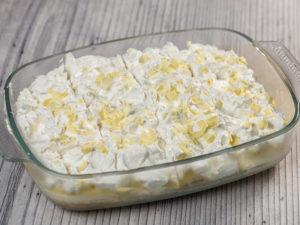 Cheesecake cu vanilie și frișcă, fără coacere