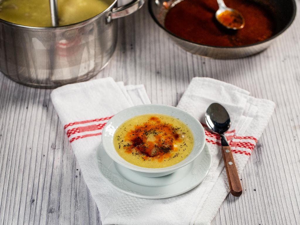 Ciorbă de miel, în stil turcesc