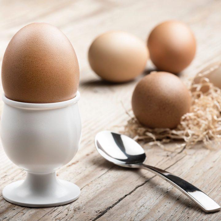 cum cureți ouăle