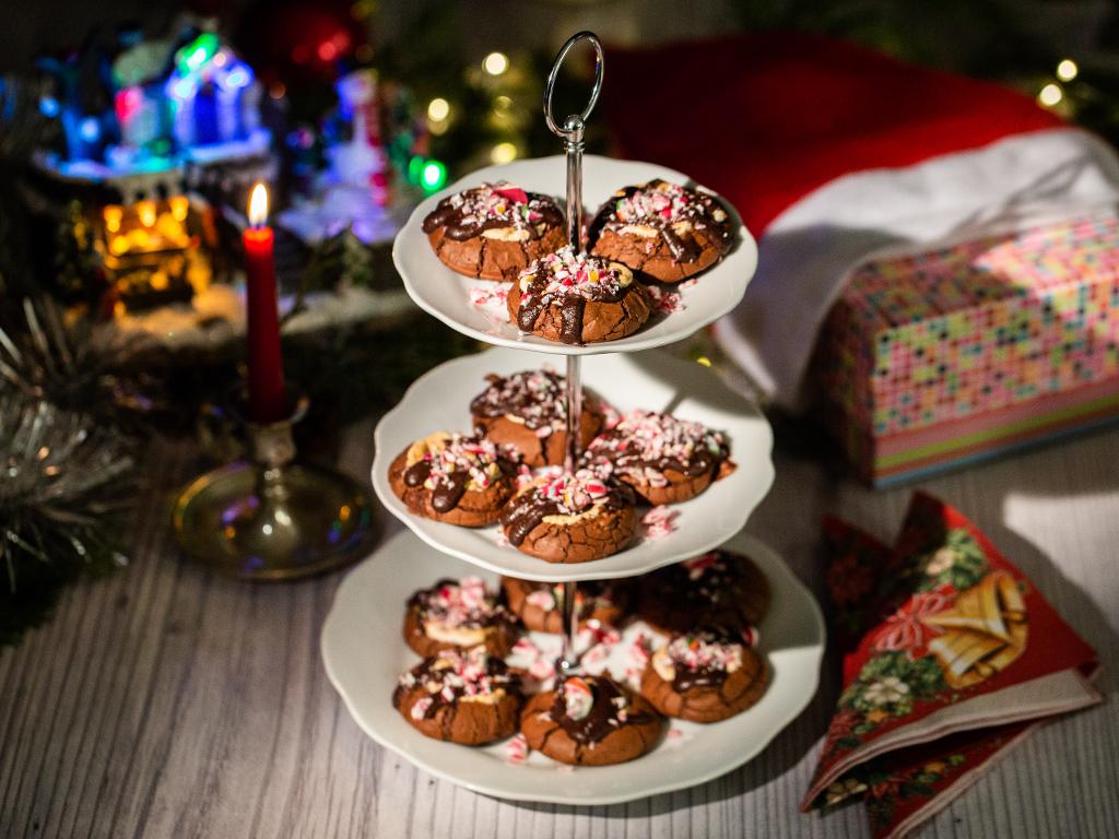 Biscuiți cu ciocolată și bezele