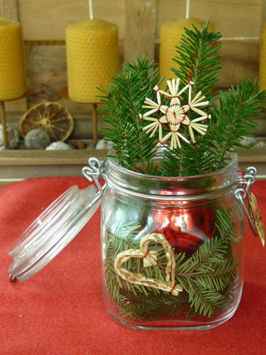 Decorațiune pentru masa de Crăciun