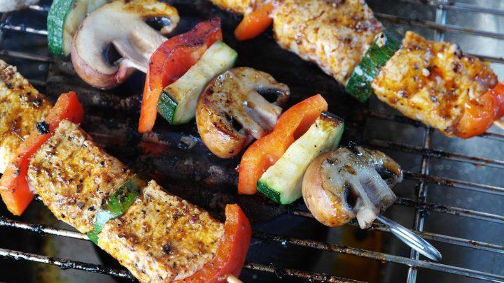 frigărui carne și legume