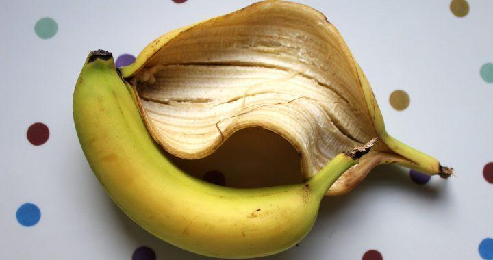 coaja de banană