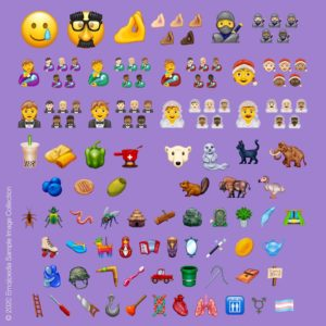 Noi emoji pentru alimente