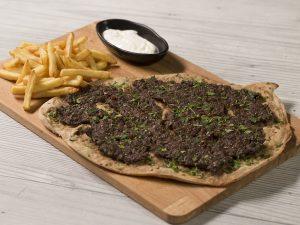 Lahmacun (Pizza Turcească)