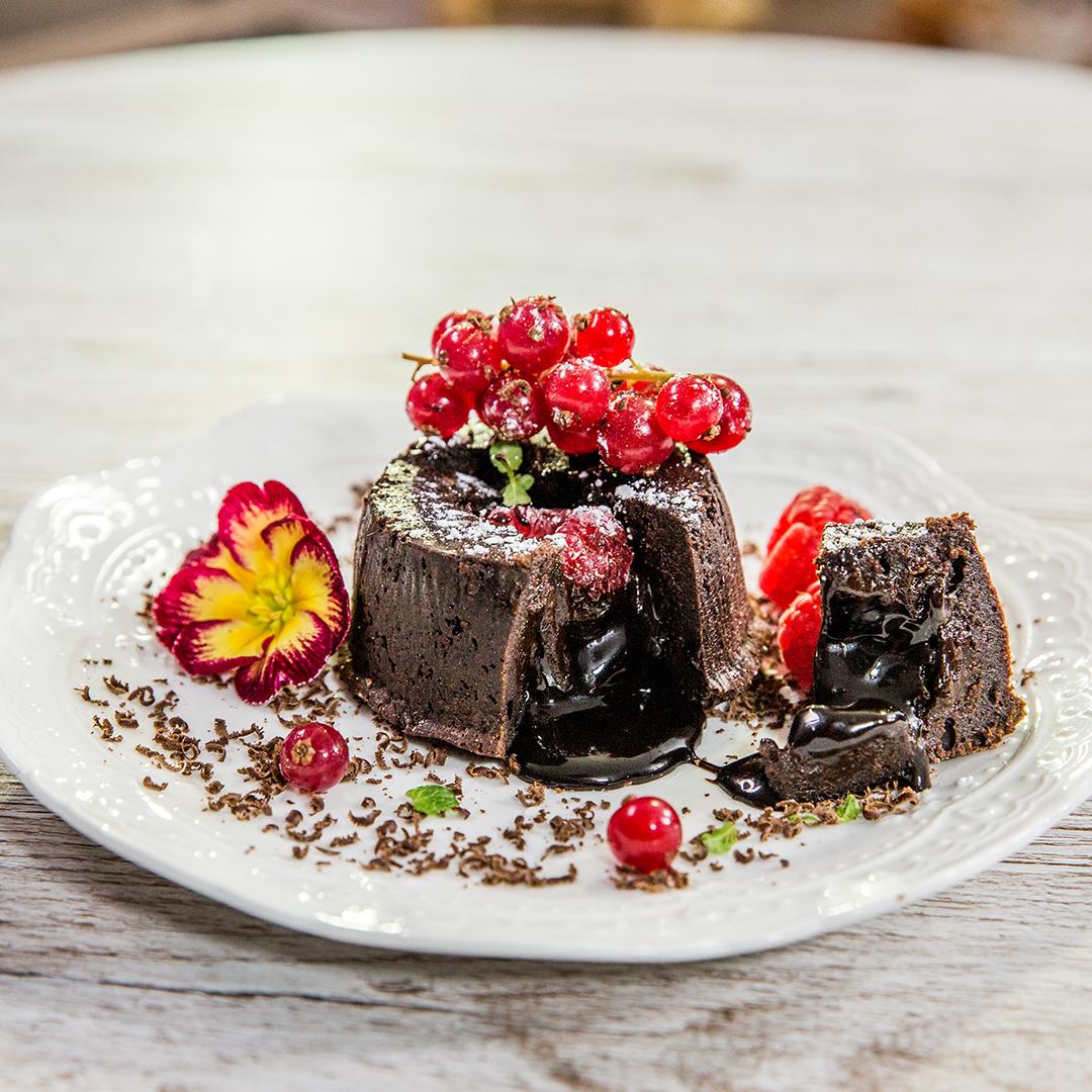 Lava Cake (Vulcan de ciocolată)
