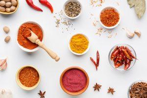 Ardei iuți și condimente picante