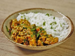 Curry de dovleac, în stil indian