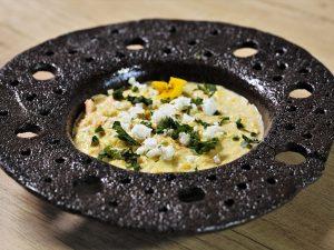 Supă americană de porumb (Corn chowder) cu somon