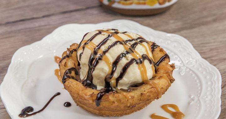 Minitarte cu Nutella și înghețată