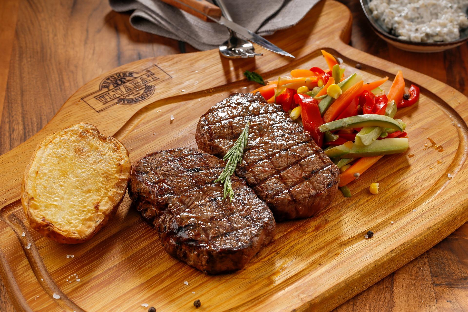 steak pierde în greutate când este gătit