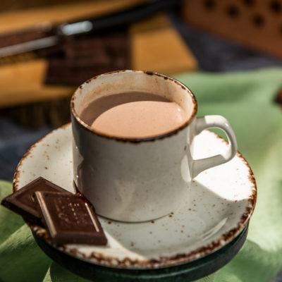 """Ciocolată caldă cu ceai """"Earl Grey"""""""
