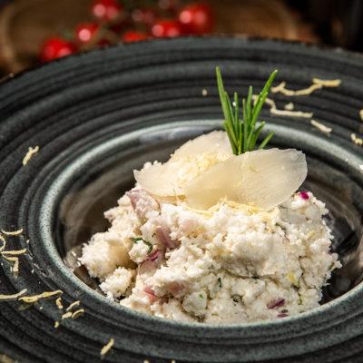 Pastă de conopidă cu mascarpone și lămâie