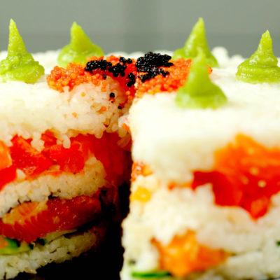 Tort sushi