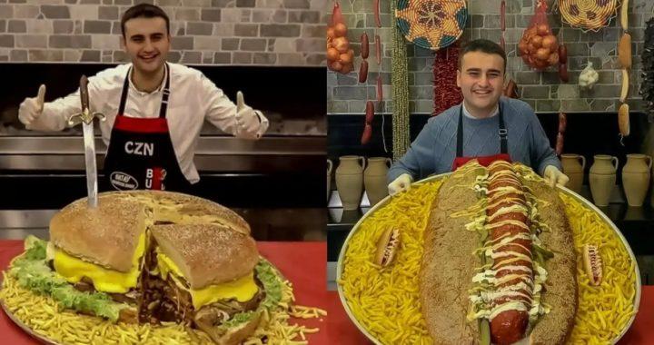 Bucătarul turc care a cucerit internetul cu stilul de a găti și cu zâmbetul său ciudat