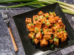 Tofu la tigaie