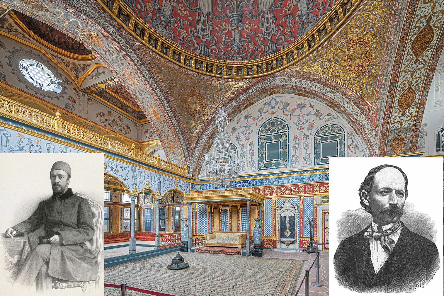Ars odasi (Sala tronului), Bolintineanu și vizirul Ali pașa - cum să bei cafea dintr-o ceașcă goală