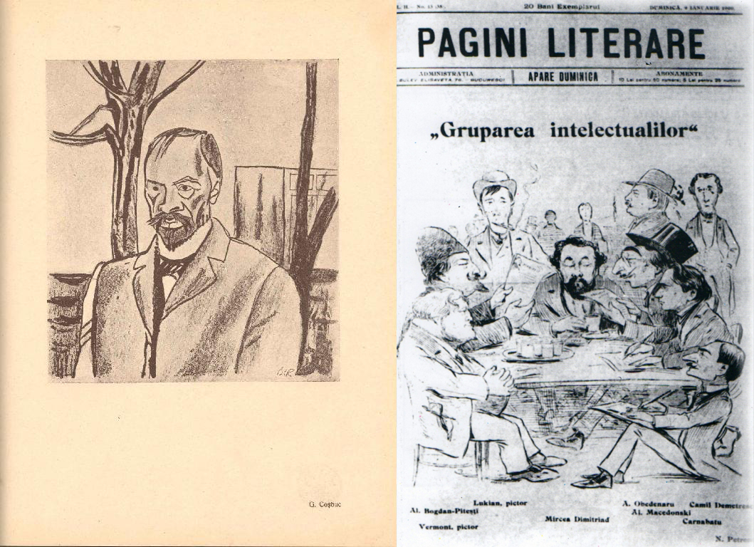George Cosbuc la Oteteleșanu (de Iser) & Gruparea Intelectualilor (de Găină)