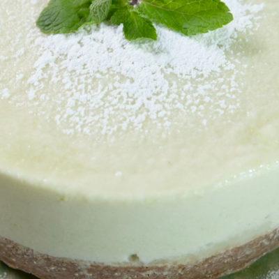 Cheesecake cu nuci și castravete