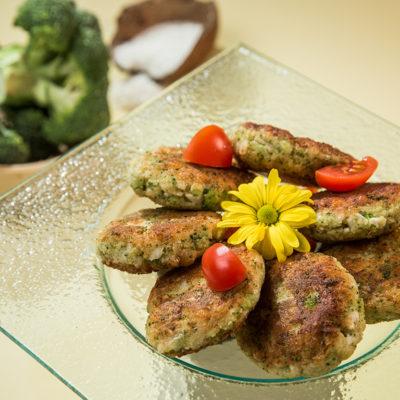 Chifteluțe cu broccoli și conopidă