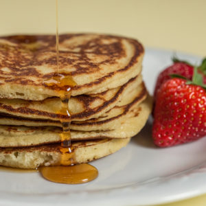 Pancakes cu nucă de cocos - p