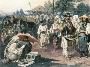 Dulciurile românilor în pictură
