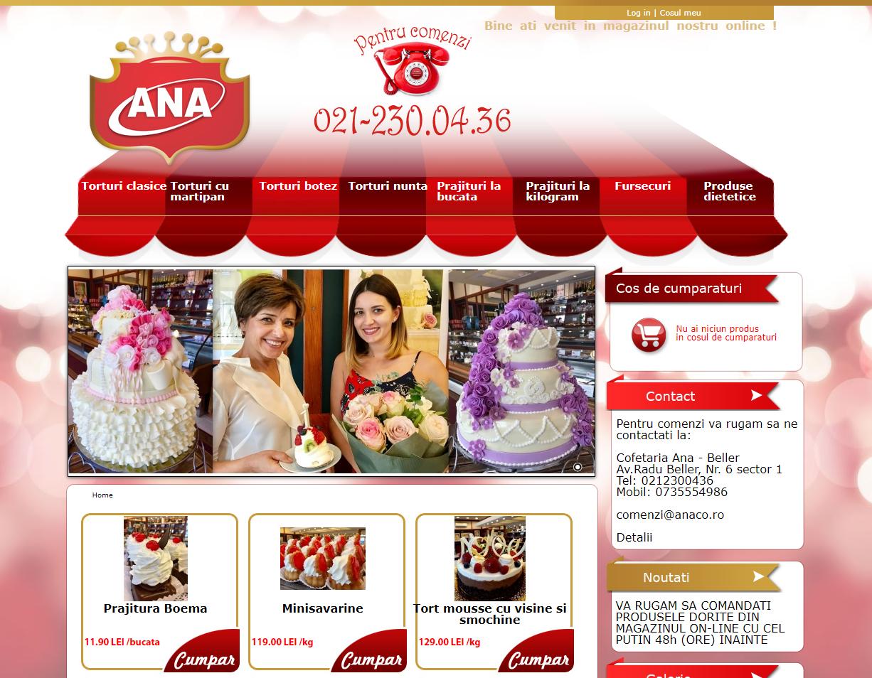 ana web page