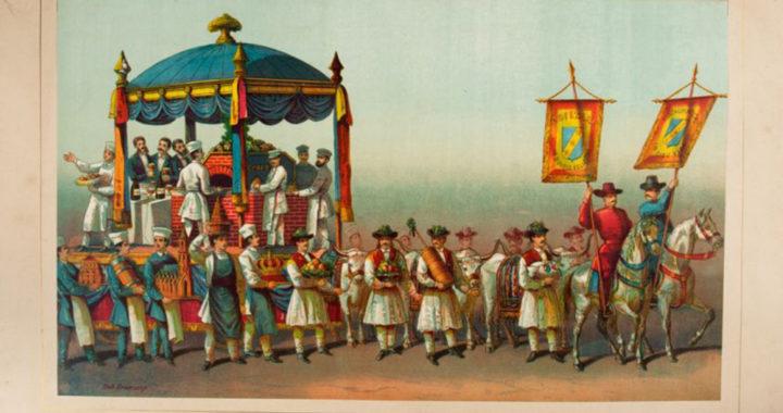 Dulciurile românilor au venit și cu carul cofetarilor