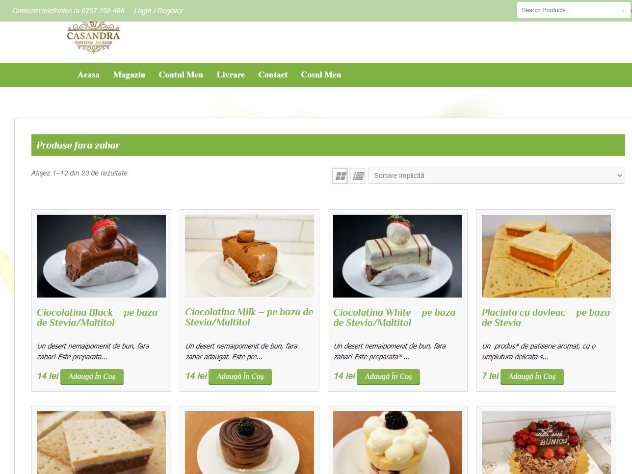 casandra web page