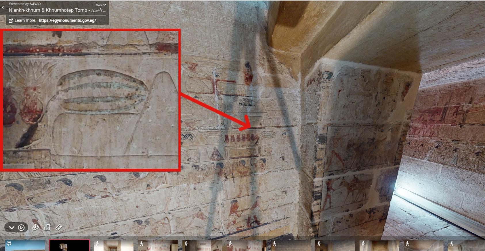 Saqqara - primul pepene